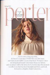 Gisele Bündchen - PorterEdit Magazine February 2019 Issue