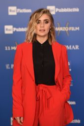 "Greta Scarano - ""The Name of the Rose"" TV Show Premiere in Milan"