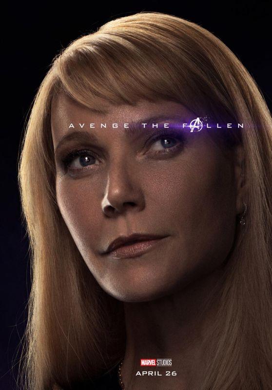 Gwyneth Paltrow – Avengers: Endgame (2019) Promo Poster