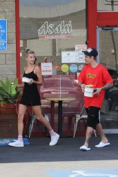 Hailey Rhode Bieber and Justin Bieber - Grab Lunch in Costa Mesa 03/23/2019