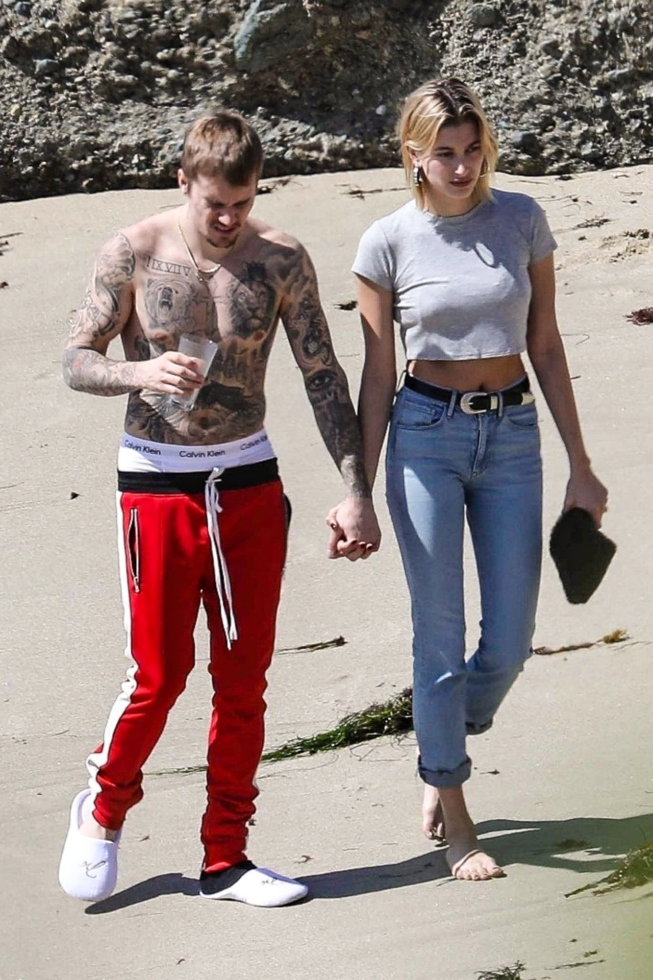 Hailey Rhode Bieber and Justin Bieber - Newport Beach in ...