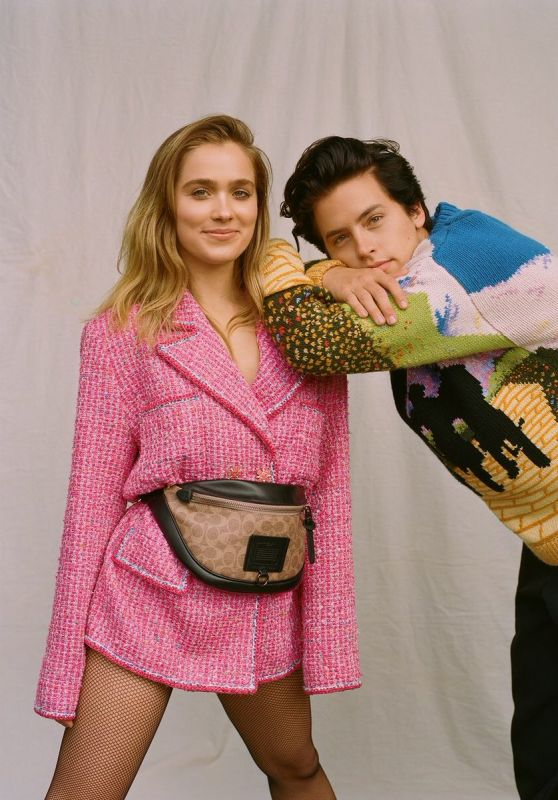 Haley Lu Richardson and Cole Sprouse - Wonderland Magazine Spring 2019