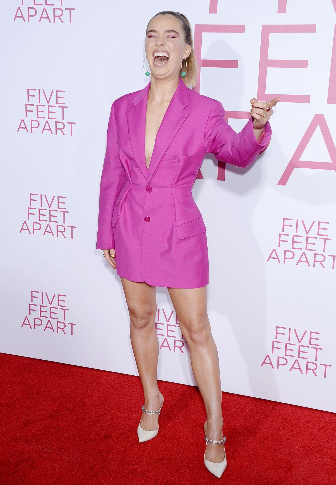 Haley Lu Richardson Five Feet Apart Premiere In LA