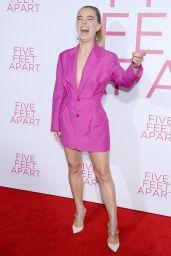 "Haley Lu Richardson - ""Five Feet Apart"" Premiere in LA"