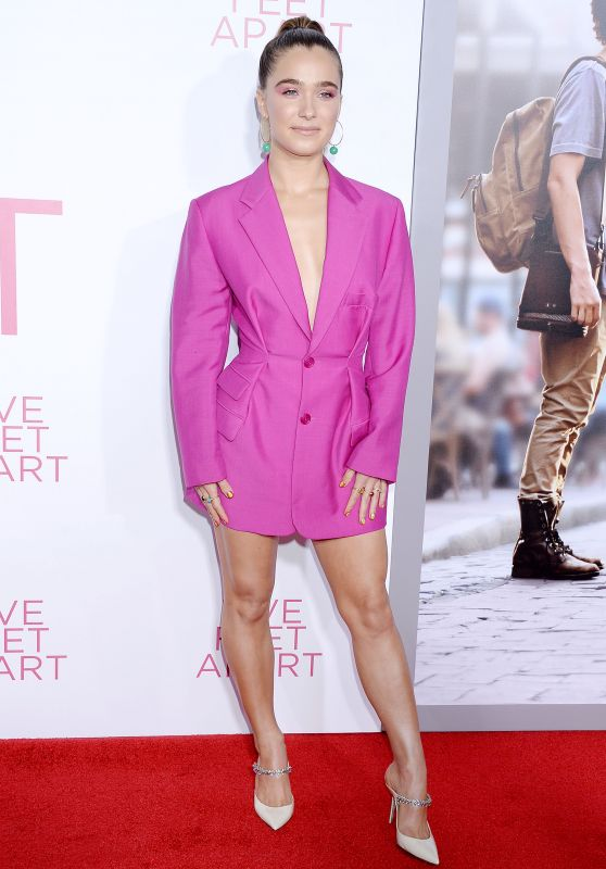 "Haley Lu Richardson - ""Five Feet Apart"" Premiere in LA"