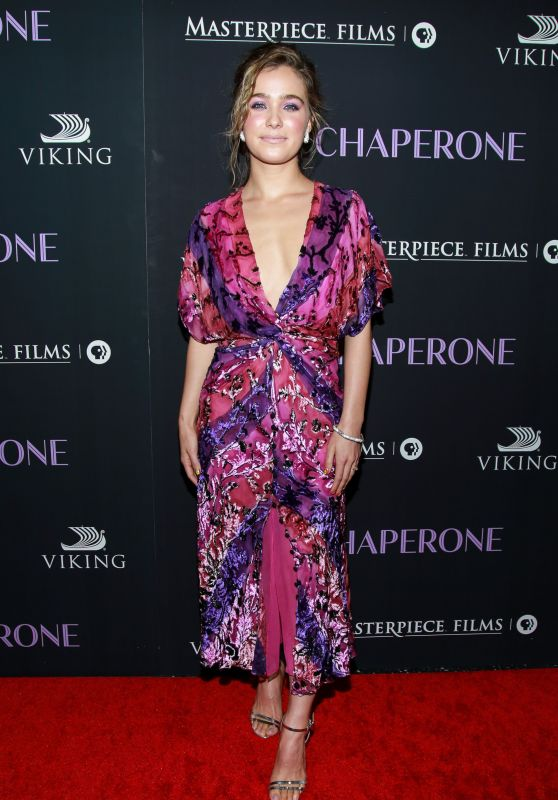 "Haley Lu Richardson - ""The Chaperone"" Premiere in New York"