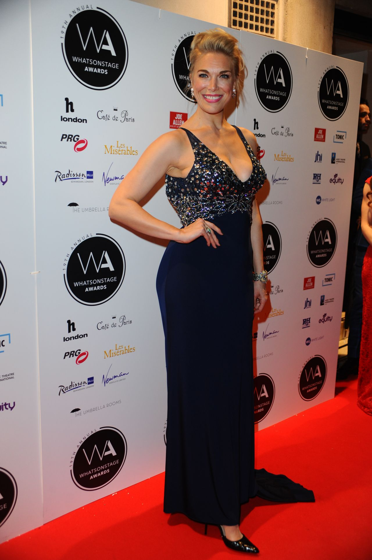 HANNAH WADDINGHAM at Whatsonstage Awards 2019 in London 03
