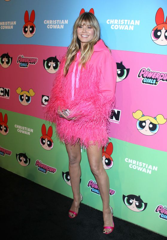Heidi Klum – Christian Cowan x The Powerpuff Girls in LA 03/08/2019