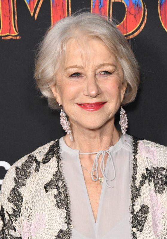 "Helen Mirren – ""Dumbo"" World Premiere in Hollywood"