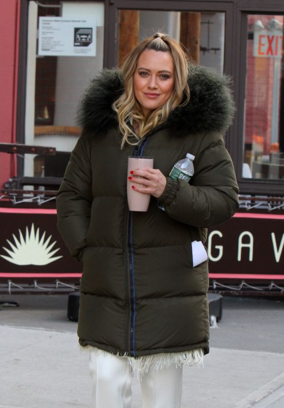 "Hilary Duff - ""Younger"" Set in NYC 03/06/2019"