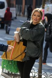 "Hilary Duff - ""Younger"" Set in NYC 03/11/2019"