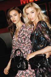 Irina Shayk and Stella Maxwell - The Kooples Spring 2019 Campaign