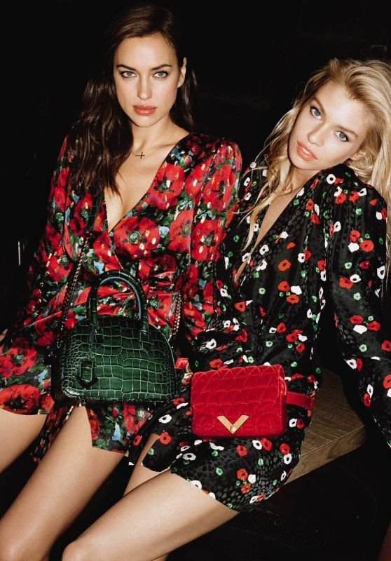 Irina Shayk and Stella Maxwell - The Kooples Spring 2019 Campaign