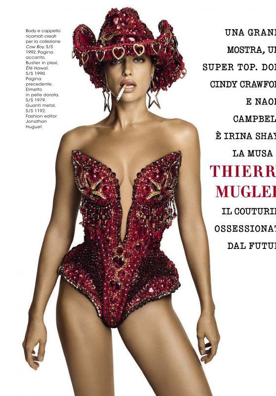 Irina Shayk - Glamour Magazine Italia March 2019 Issue