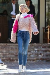 Jaime King Street Style - Los Angeles 03/14/2019