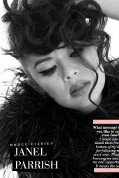 Janel Parrish - Modeliste Magazine March 2019 Issue