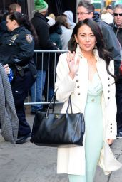 Janel Parrish - Outside GMA in NYC 03/20/2019