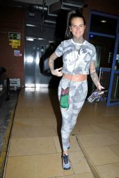Jemma Lucy - Leaving the Gym in Manchester 03/21/2019