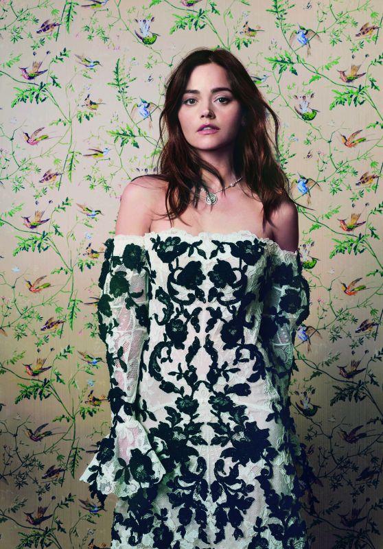 Jenna Coleman - Photoshoot for Harper's Bazaar UK April 2019