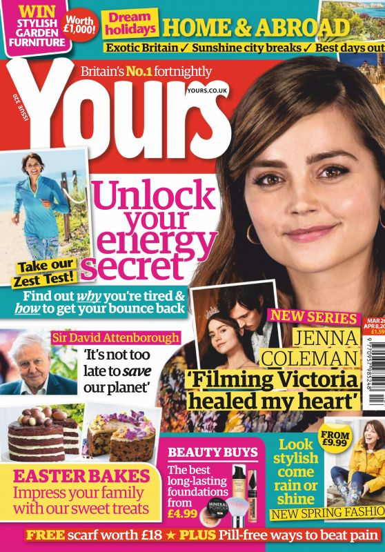 Jenna-Louise Coleman - Yours Magazine UK March 2019 Issue