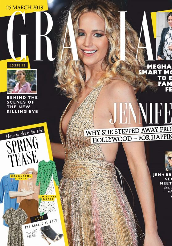 Jennifer Lawrence - Grazia UK 03/25/2019