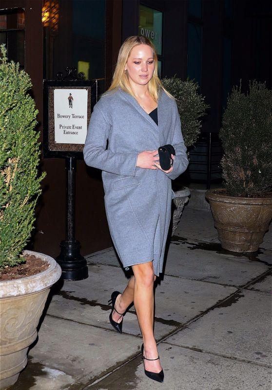 Jennifer Lawrence Night Out Style 03/13/2019