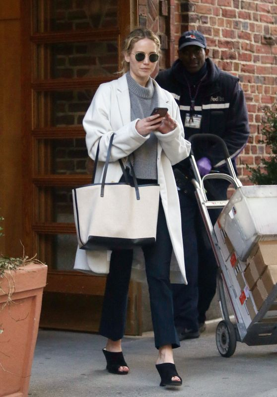 Jennifer Lawrence - Out in New York City 03/14/2019