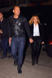 Jennifer Lopez and Alex Rodriguez - Head to Dinner in NYC 03/16/2019