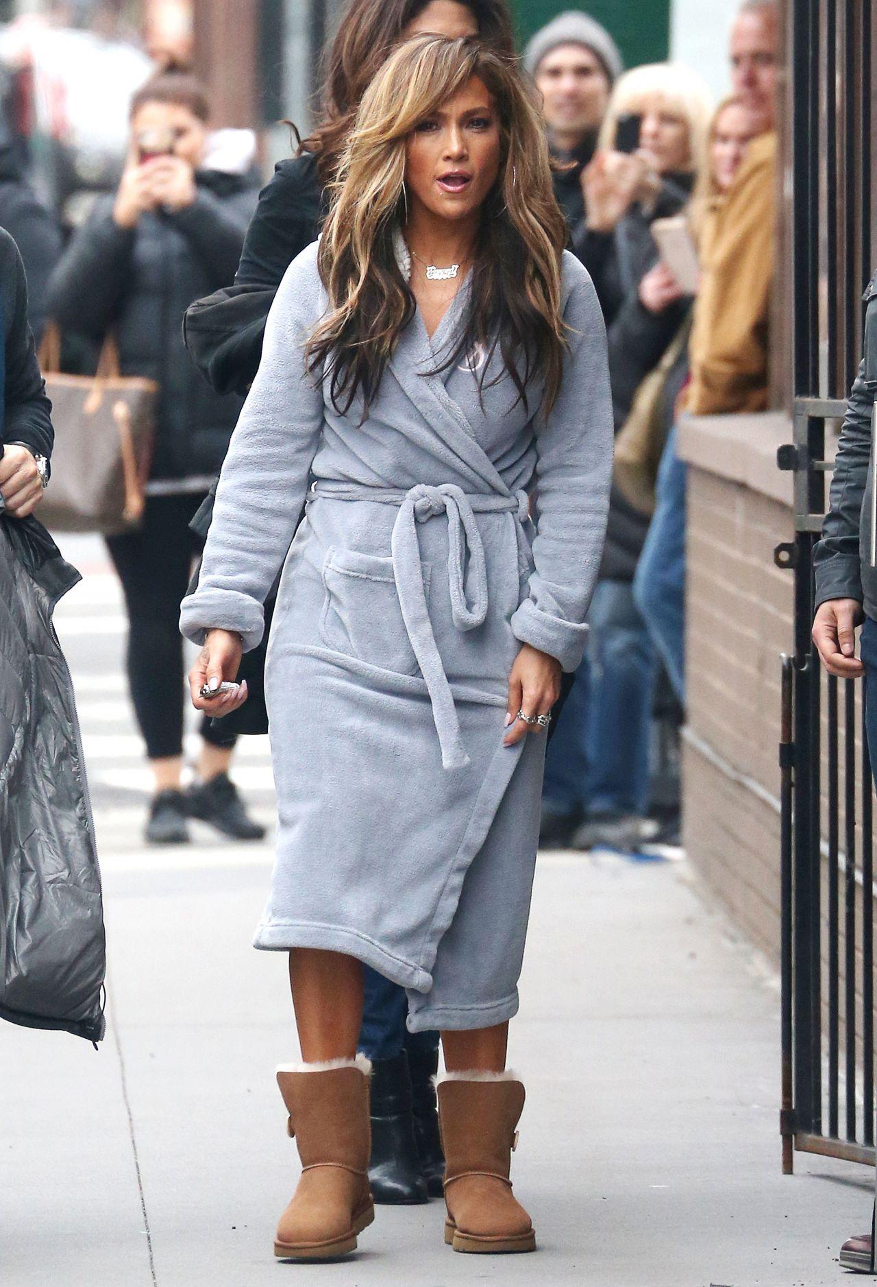 """Jennifer Lopez - """"Hustlers"""" Set in NY 03/28/2019"""