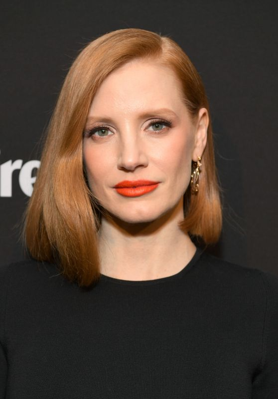 Jessica Chastain - Marie Claire honors Hollywood