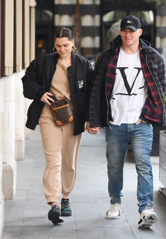 Jessie J and Channing Tatum - Out in London 03/14/2019