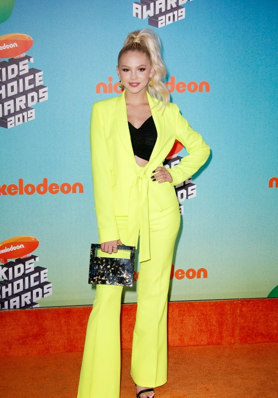 Jordyn Jones – Nickelodeon Kids' Choice Awards 2019