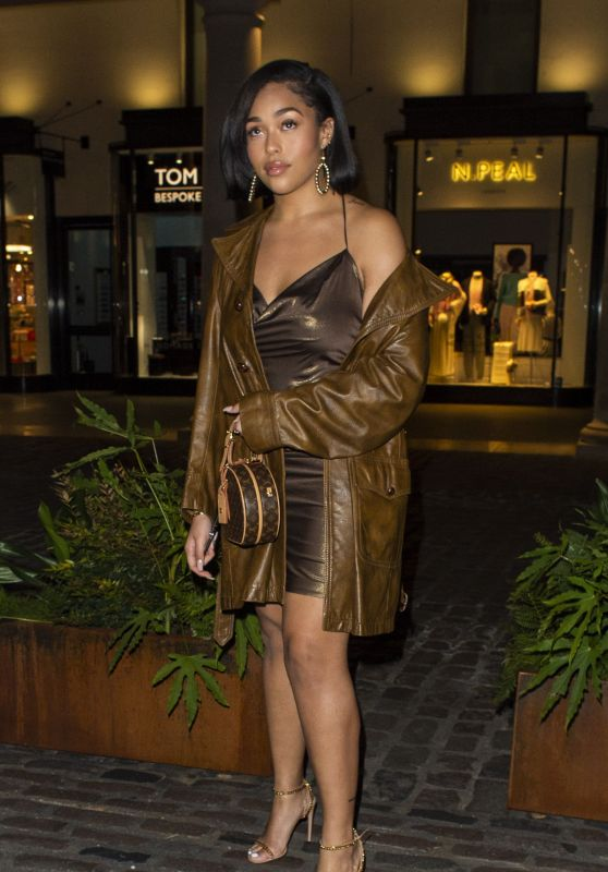 Jordyn Woods - Sushisamba in London 03/25/2019