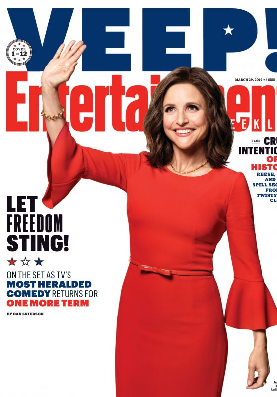 Julia Louis-Dreyfus - Entertainment Weekly Magazine March 2019 Issue