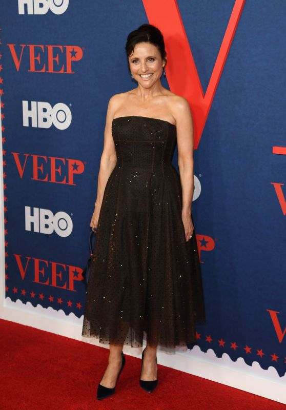 """Julia Louis-Dreyfus – """"Veep"""" Season 7 Premiere in NYC"""