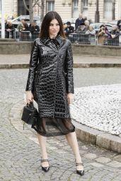 Julia Restoin-Roitfeld – Miu Miu Fashion Show in Paris 03/05/2019
