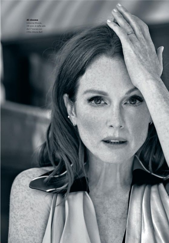 Julianne Moore - Elle Magazine Italy March 2019 Issue