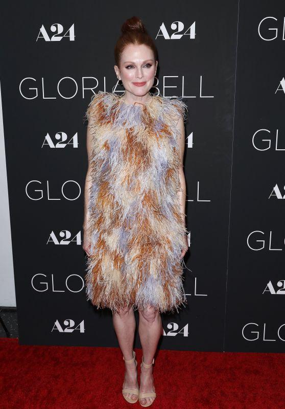 """Julianne Moore - """"Gloria Bell"""" Screening in NY"""