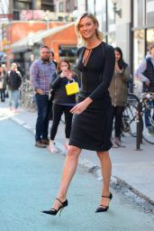 Karlie Kloss - Heading to the Tonight Show in NYC 3/11/2019