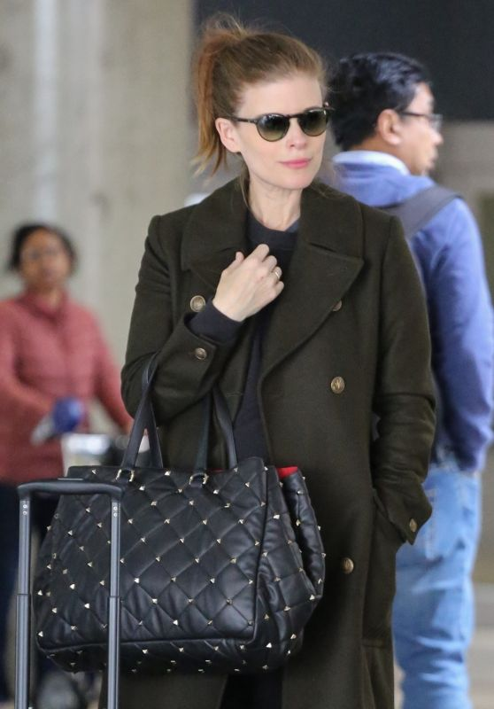 Kate Mara - LAX Airport in Los Angeles 03/06/2019