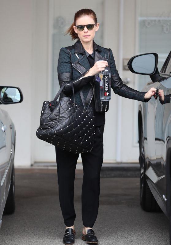 Kate Mara - Leaving Ballet Bodies in West Hollywood 3/11/2019