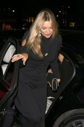 Kate Moss Night Out - Arriving at Annabel