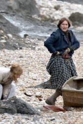 "Kate Winslet and Saoirse Ronan - Filming ""Ammonite"" in Charmouth 03/18/2019"
