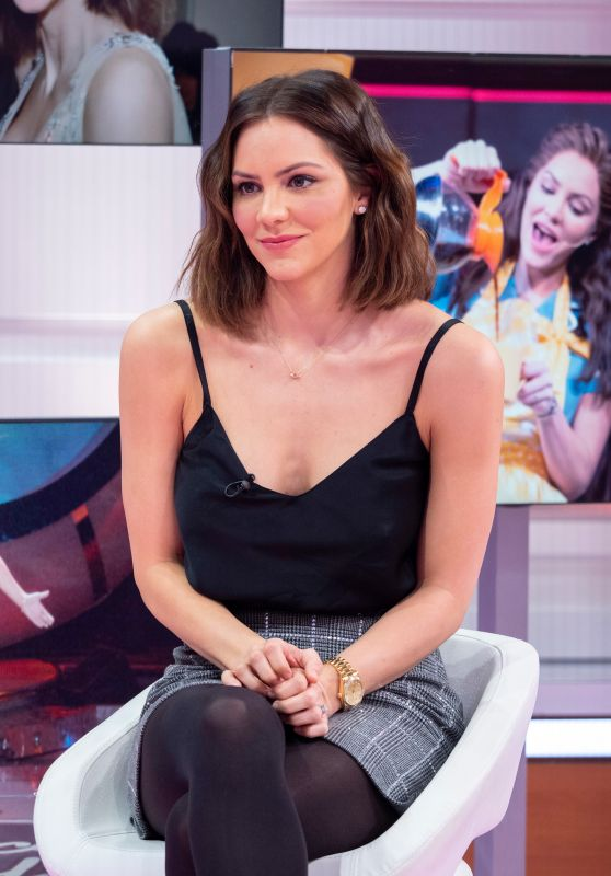 "Katharine McPhee - ""Good Morning Britain"" TV Show in London 03/11/2019"
