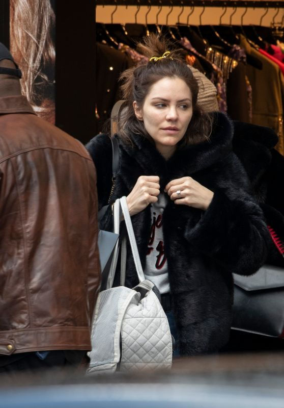 Katharine McPhee - Shopping in London 03/12/2019
