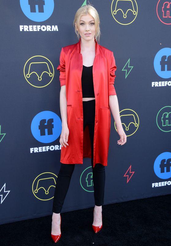 Katherine McNamara at Freeform Summit in LA 03/27/2019