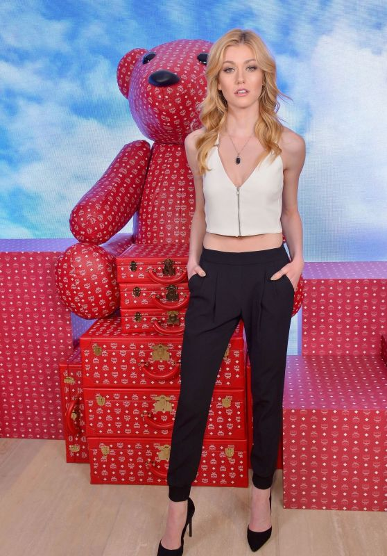 Katherine McNamara - MCM Rodeo Drive Store Grand Opening Event in Beverly Hills 03/14/2019