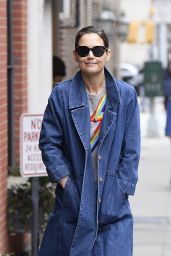 Katie Holmes - Out in NYC 03/13/2019