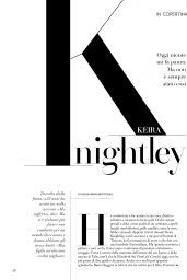 Keira Knightley – F N.11 Magazine March 2019 Issue