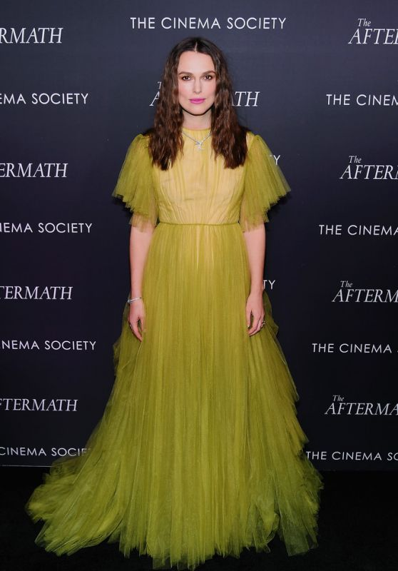 """Keira Knightley - """"The Aftermath"""" Screening in NYC"""
